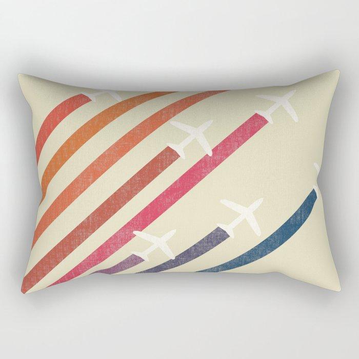 Aerial display (ver.2) Rectangular Pillow
