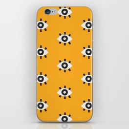 Evil Eye Dots – Marigold Palette iPhone Skin