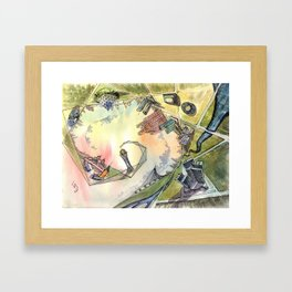 Astana Framed Art Print