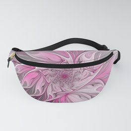 Abstract Pink Floral Dream Fanny Pack