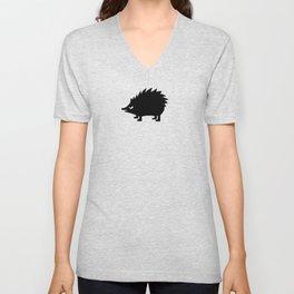 Angry Animals: hedgehog Unisex V-Neck