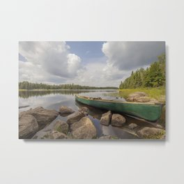 Perfect Boundary Waters Day Metal Print