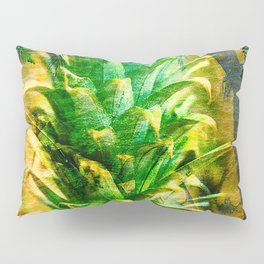Stand Tall, Green Pineapple Pillow Sham