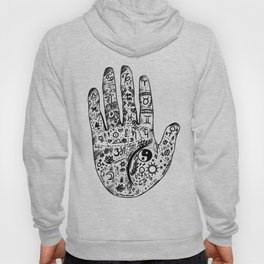 Hand Of Wisdom by Ane Teruel Hoody
