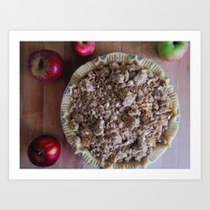 DUTCH APPLE PIE Art Print