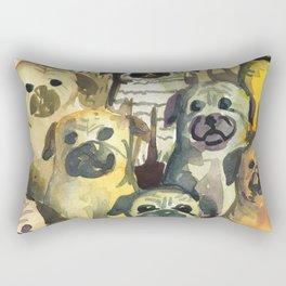 pug's squad Rectangular Pillow