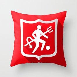 America de Cali Throw Pillow
