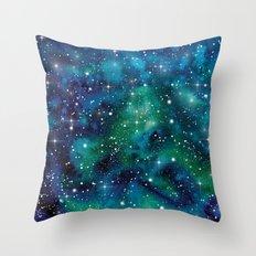 Galaxy 09 Throw Pillow