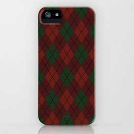 Vintage Christmas Sweater iPhone Case