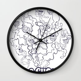 GGGHOSTS! Wall Clock