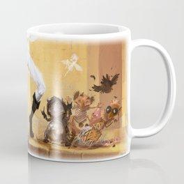 Glitter KARAOKE (Pants magic pants) Coffee Mug