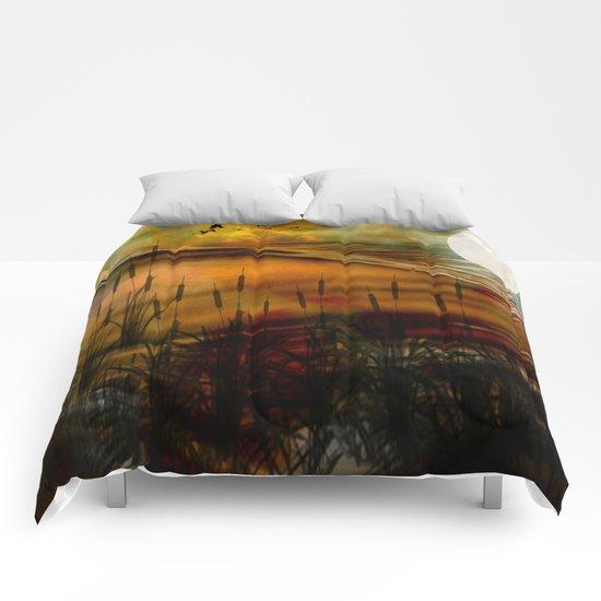 Aura Of Tranquillity Comforters