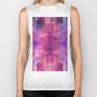 trippy Biker Tanks featuring TRIPPY by Joelle Poulos