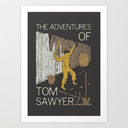 Books Collection: Tom Sawyer Art Print