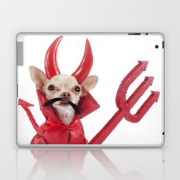 devil chihuahua Laptop & iPad Skin