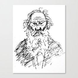 Tolstoy Canvas Print