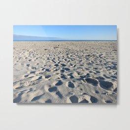 Beach in Southampton Metal Print