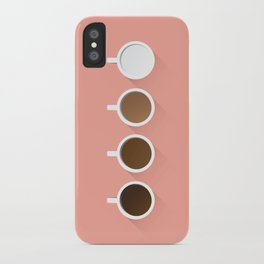 Coffee + Simplicity iPhone Case