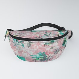 Autumn Petals on Candy Floss Fanny Pack