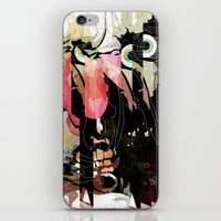 frank iPhone & iPod Skins featuring Frank by Alvaro Tapia Hidalgo