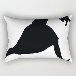 Don't Run With Cats Rectangular Pillow