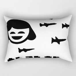 STEVEN DANA SA RANG HAE (I LOVE YOU) Rectangular Pillow