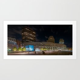 Government Center Art Print