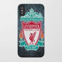 liverpool iPhone & iPod Cases featuring LIVERPOOL by Acus