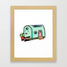 Home Body: Nellie Framed Art Print