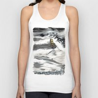 montreal Tank Tops featuring Beasts of Montreal by Salgood Sam