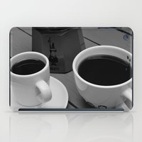 coffe iPad Cases featuring Coffe for two by Camaracraft