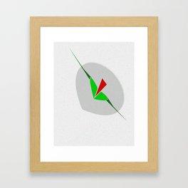Sinking, art, wall art lips, arrow, print Framed Art Print