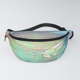 Flying Around the World Fanny Pack