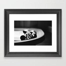 La grande Boucle Framed Art Print