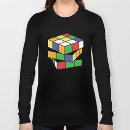 Retro Rubix Long Sleeve T-shirt