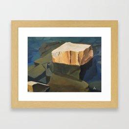 Two Harbors Framed Art Print