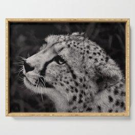 Cheetah profile Serving Tray