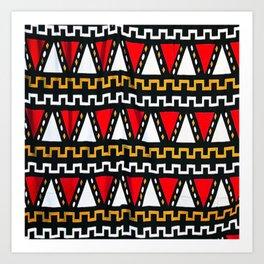 Ghana Art Print