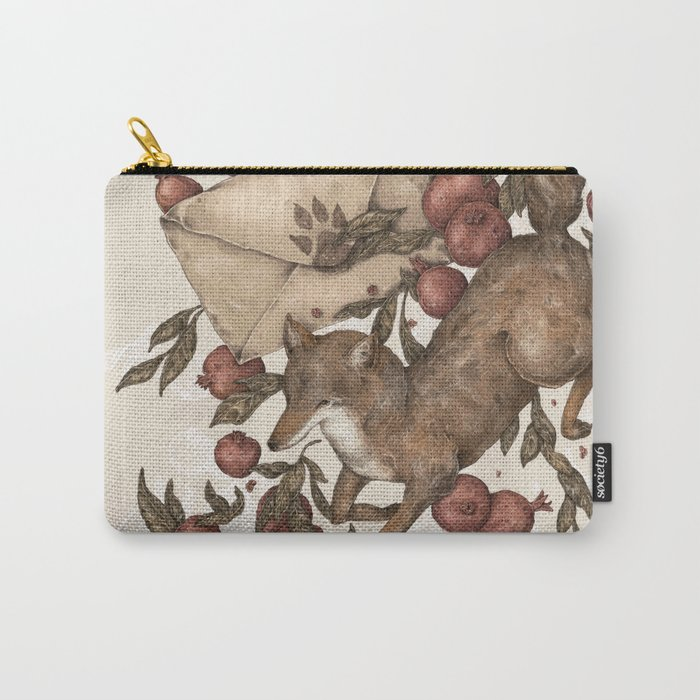 Coyote Love Letters Carry-All Pouch