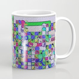 """Madrone Candea - Abstract 0004 """"Iteration 3"""" Coffee Mug"""