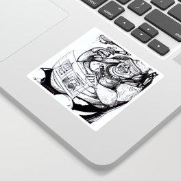 Inktober: Fat Sticker