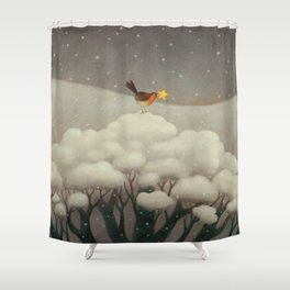 Lost Star Shower Curtain