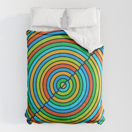 Colorful Circle Comforters