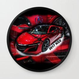 2017 NSX Wall Clock