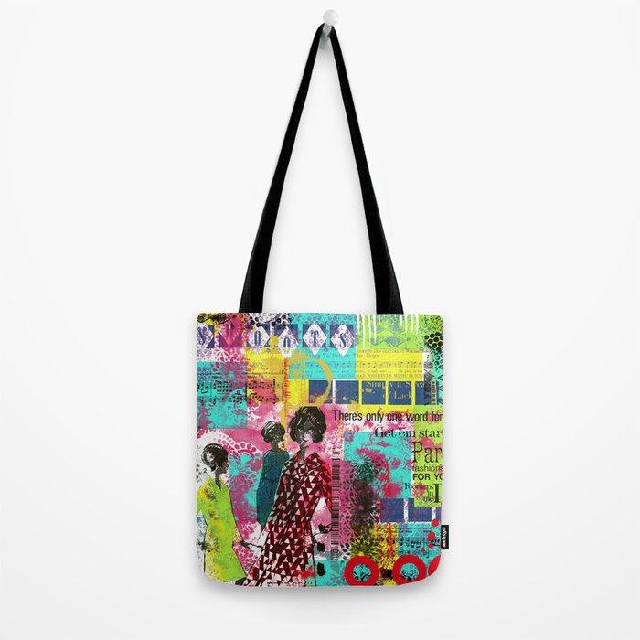 Fashion in Paris Tote Bag
