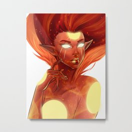 Solair, Aelor of the Sun Metal Print