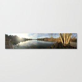 Beaver Lake, Asheville Canvas Print