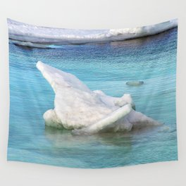 Ice Pile-Up  Wall Tapestry