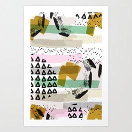 A celebration! Art Print