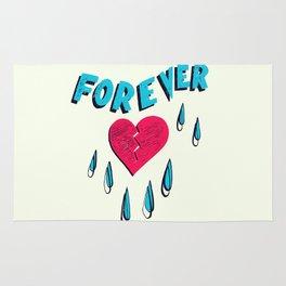 Forever HeartBroken Rug